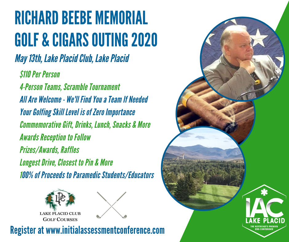 Richard Beebe Memorial Golf and Cigars Fundraiser 2020