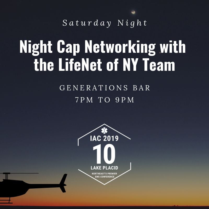 Night Cap Networking with LifeNet of NY